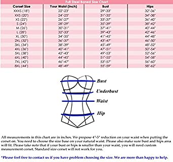 4077d170468 luvsecretlingerie Heavy Duty 26 Double Steel Boned Waist Training Satin  Overbust Tight Shaper Corset ...