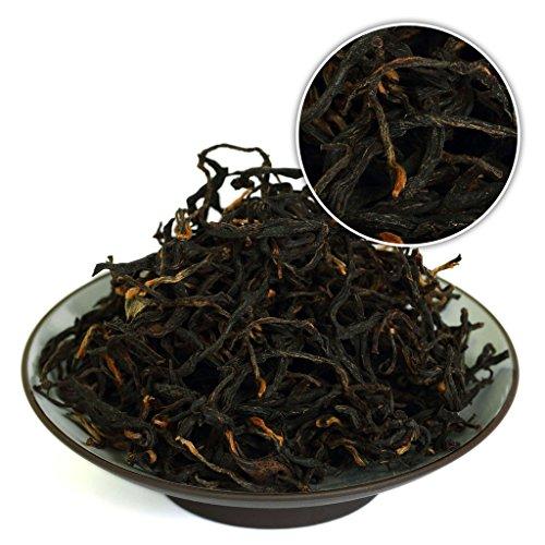 GOARTEA 100g (3.5 Oz) Supreme Organic Yunnan FengQing Wild Ancient Tree Dian Hong Dianhong Black Tea