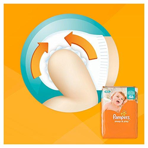 PAMPERS Sleep y Play Talla 3, Pack de ahorro 82 unidades: Amazon.es: Salud y cuidado personal