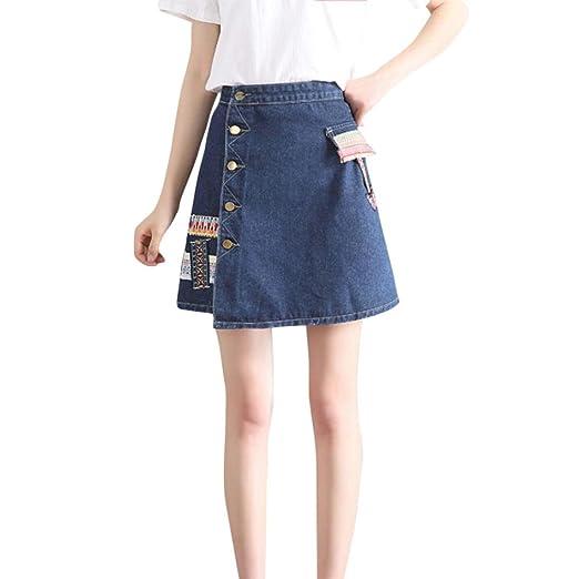 b58611676 Ladies Dress Women Denim Skirt Fashion Waist Skirt Korean Style Girls Cowboy