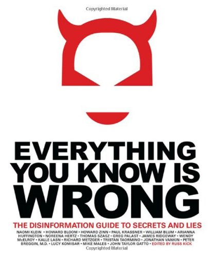 amazon everything you know is wrong the disinformation guide to