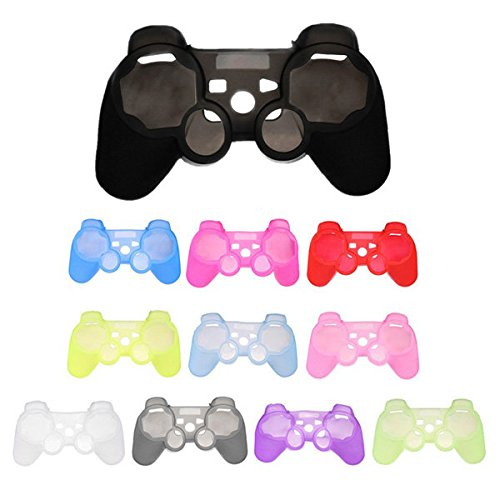 Pink Lizard Silicone Protective Skin Case Cover For Sony PlayStation 3 PS3 Controller (Ps3 Controller Cover Case compare prices)