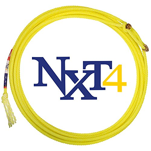 Classic Rope Company Classic Rope NXT4 Heel Team Rope MS Yellow