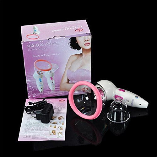 Price comparison product image Carer Wireless Breast Enhance Vacuum Anti-Cellulite Breast Massager Electric Nipple Vibrating Sex Pummp Enlarger Home Use Machine