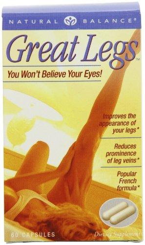 Natural Balance Great Legs Capsules, 60 comte