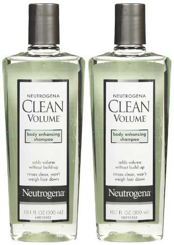 Neutrogena Clean Volume Clean Shampoo - 10.1 oz - 2 pk