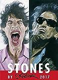 Stones 2017: by Sebastian Krüger - Wandkalender