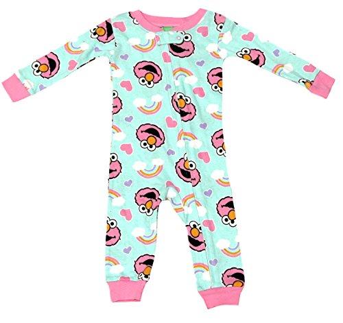 Sesame Street Infant Blanket Sleeper (Pink, 24 Months)