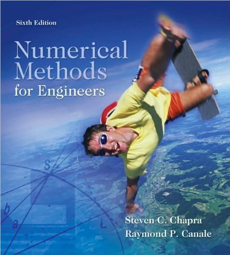 Download Numerical Methods for Engineers (text only)6th (Sixth) edition by S. Chapra by R.Canale PDF