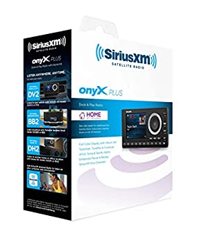 Siriusxm Sxpl1h1 Onyx Plus Satellite Radio With Home Kit With Free 3 Months Satellite & Streaming Service 2