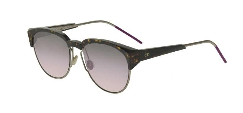 7cdd749b37f5 Amazon.com  New Christian Dior SPECTRAL 01K SO dark havana lilac Sunglasses   Clothing