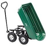 Draper Garden Tipper Cart - Green