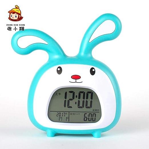 Mzbbn Despertadores Digitales Reloj Despertador Infantil De ...