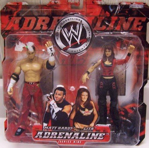 """WWE Adrenaline Series 9 """"Matt Hardy & Lita"""" Action Figure 2-Pack"""
