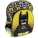 Lego Batman 3D Molded Character 16 inch School Backpack