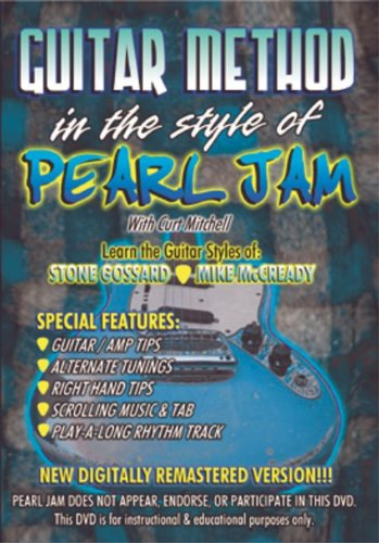 Guitar Method: In the Style of Pearl Jam by MVP