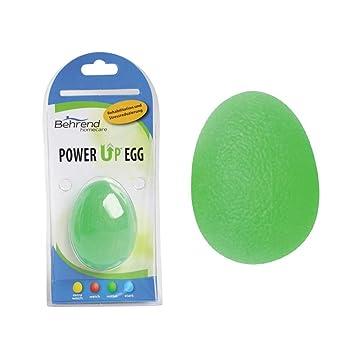 1 x Behrend PowerUp Egg mano Trainer, terapia pelota mano Terapia ...