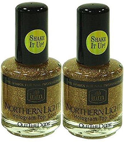 INM Northern Lights Hologram Top Coat Gold 2x by - Northern Stores Great Mall