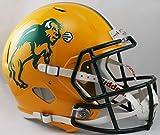 NCAA North Dakota Full Size Speed Replica Helmet, Green, Medium