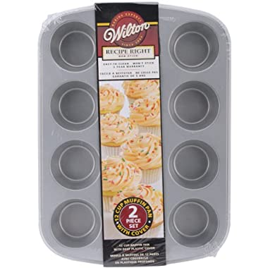 Wilton Recipe Right Covered Muffin Pan