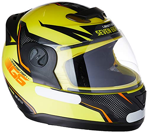 Pro Tork Capacete Evolution G6 Factory Edition 58 Amarelo Neon/Preto
