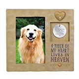 "Grasslands Road, ""A Piece Of My Heart"" Pet Tag Frame"