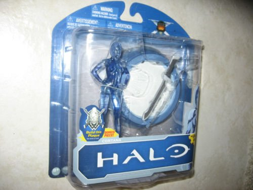 Halo McFarlane Toys 10th Anniversary Series 1 Action Figure Cortana Halo 3 Edition 2011 With Light Up Base by Unknown