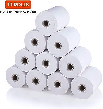 x 230/' THERMAL POS RECEIPT PAPER ROLL 80mm 10 Rolls 3 1//8/'/'
