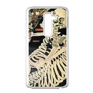 japanese samurai art LG G2 Cell Phone Case White Gimcrack z10zhzh-3296200