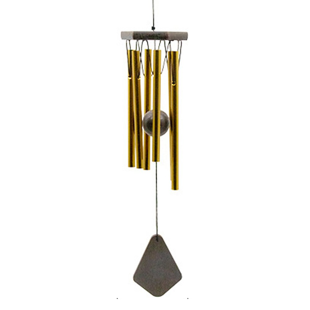 Outdoor or Indoor Wind Chimes, Metal Wind Chime Tubes are Tuned to the Opening Musical Notes of Amazing Grace to Produce Soothing Music in Memory of Favor