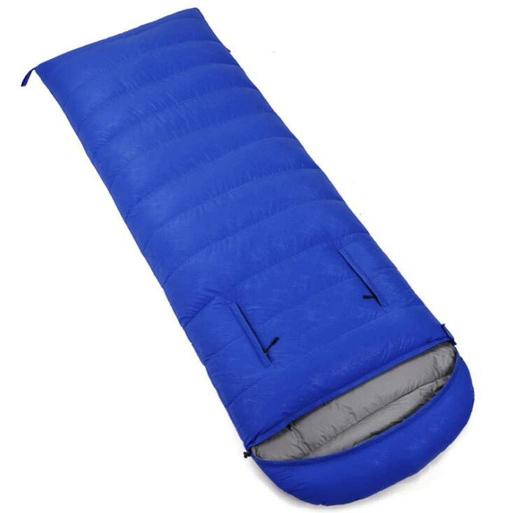 JBHURF Outdoor Camping Schlafsack Outdoor Nähte Doppel Schlafsack Tragbare Kompression Schlafsack (Kapazität   1.0kg, Farbe   Camouflage Blau) B07KJD75C1 Schlafscke Zu einem erschwinglichen Preis
