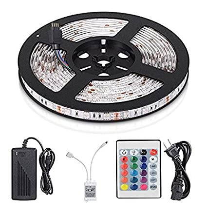 Mufasa led strip lights smd 5050 waterproof 164ft 5m 300leds rgb mufasa led strip lights smd 5050 waterproof 164ft 5m 300leds rgb color changing flexible aloadofball Image collections