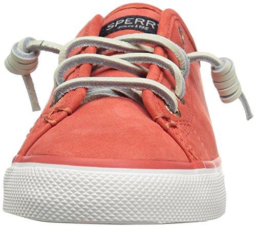 Sperry Top-sider Womens Havskusten Sämskinn Mode Sneaker Korall