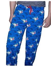 MLB Men's Toronto Blue Jays Blue Jersey Pajamas