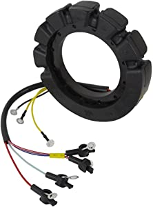 Rareelectrical NEW STATOR COMPATIBLE WITH MERCURY MARINER 90HP 115HP AND 140HP 6 CYL ENGINES 398-5454A17