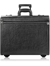 Lincoln Rolling Catalog Case with Dual Combination Locks