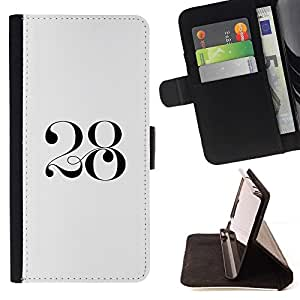 Momo Phone Case / Flip Funda de Cuero Case Cover - 2 8 Negro blanco del arte mítico - LG G4