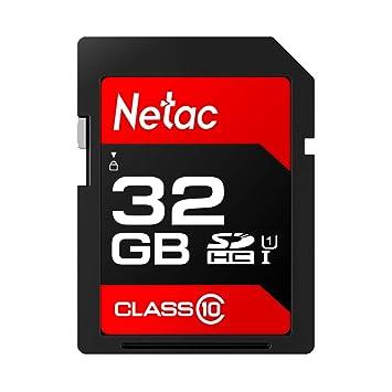 ZerrtFas Netac P600 UHS-I - Tarjeta de Memoria SD de Alta ...