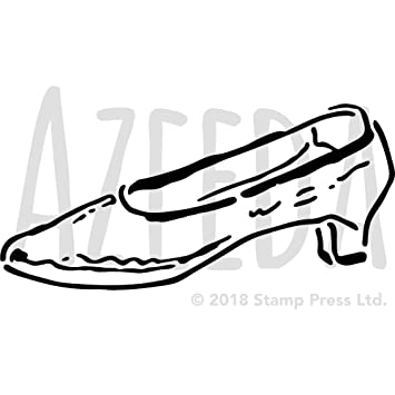 Large A2 Vintage Shoe Wall Stencil Template WS00025313