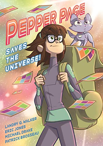 Book Cover: Pepper Page Saves the Universe!