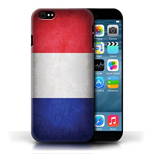 Etui / Coque pour Apple iPhone 6/6S / France/français conception / Collection de Drapeau