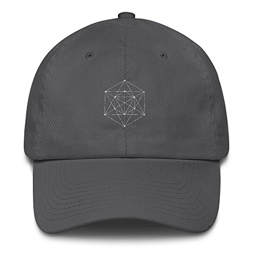 Hat Baseball Tribal (Eclectic Foundry Sacred Geometry Dad Hat Cotton Cap Festival Geometric Outfit Psychedelic Clothing Boho Tribal Clothes)
