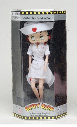 Precious Kids 31123 Nurse Betty Boop Fashion Doll