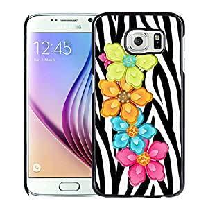 Fashionable And Unique Kate Spade Cover Case For Samsung Galaxy S6 Black Phone Case 233
