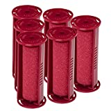 Caruso Professional Small Molecular Replacement Steam Hair Rollers with Shields, 6-Pack, ¾ Inches