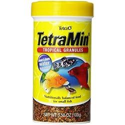Tetra TetraMin Tropical Granules, 3.52-Ounce, 250-Ml