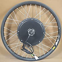 24inch 500w 36v-60v E-bike Conversion Kit Ebike Electric Bicycle Conversion Kit-front Hub Motor#141107 (24'')
