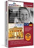 Sprachenlernen24.de Deutsch für Franzosen Basis PC CD-ROM: Lernsoftware auf CD-ROM für Windows/Linux/Mac OS X