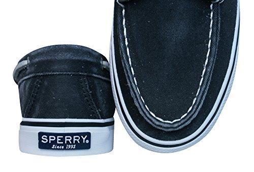 para Zapatillas Sperry Black Deportivas Mujer 61gx0w