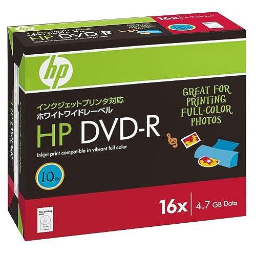 hp DVD-R 4.7HPWBX10P